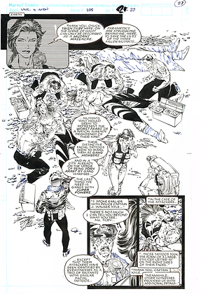 Uncanny X-Men #285/Page 27 ASK FOR PRICE