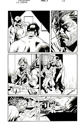 Villains United Special  Page 25     SOLD