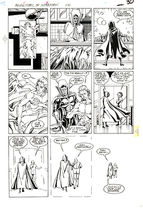 Adventures of Superman #470/Page 30    SOLD