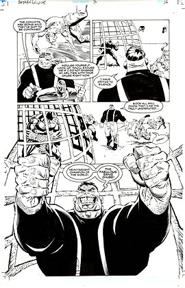 Batman/Wildcat #3/Page 16