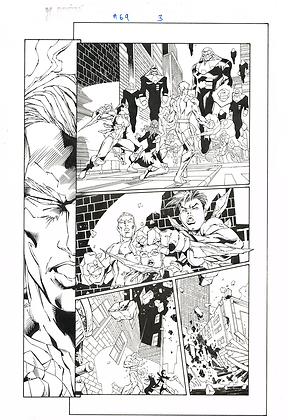X-Men #69/Page 3        SOLD