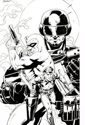 Captain Action/Phantom Cover