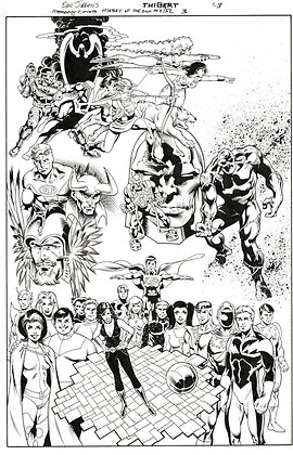 History of the DC Universe #3/Page 23    SOLD