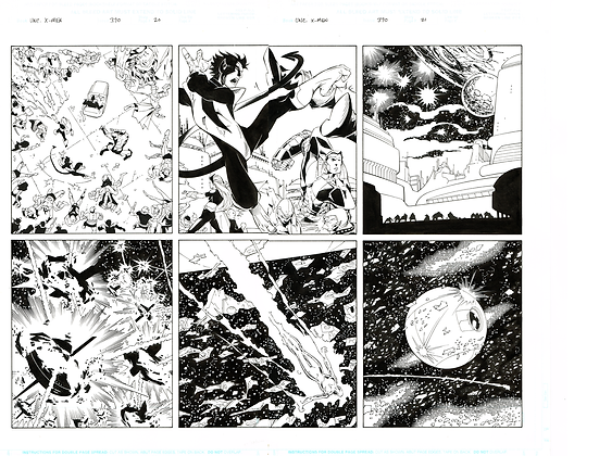 Uncanny X-Men #370 /Pg 20&21  SOLD