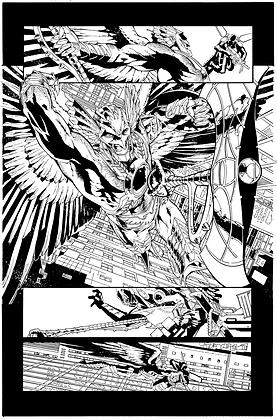 Savage Hawkman #9/Page 6      SOLD