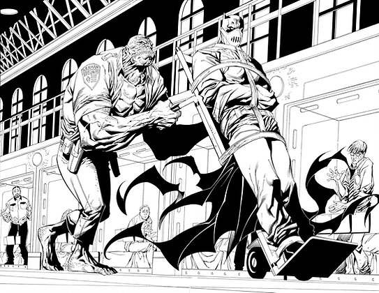 Detective Comics #28/Pages 4&5  SOLD