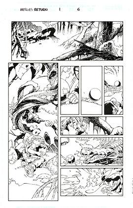 Heroes Return #1/Page 6