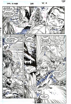 Uncanny X-Men #284/Page 13 ASK FOR PRICE