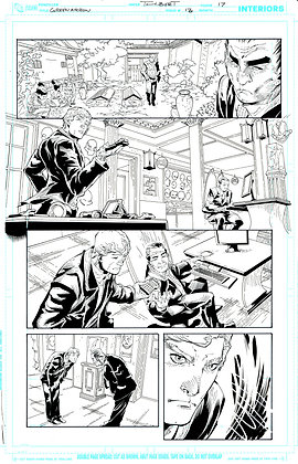 Green Arrow #13/Page 17
