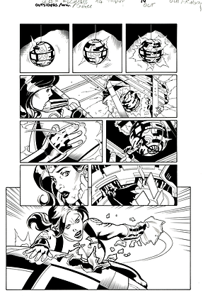 Outsiders/Wonder Woman #1/Page 19