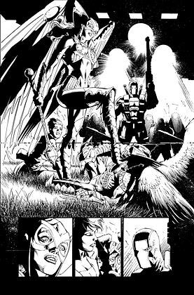 Savage Hawkman #13/Page 1   SOLD