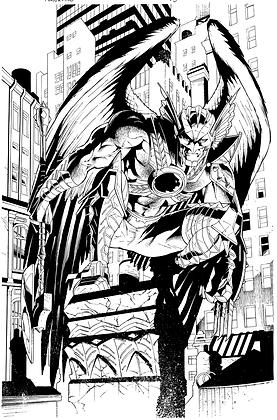 Savage Hawkman #15/Page 10      SOLD