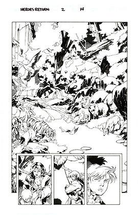 Heroes Return #2/Page 14
