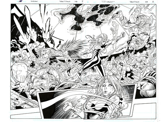 Teen Titans #28/Pages 4 & 5