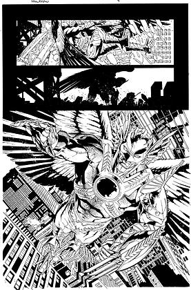 Savage Hawkman #9/Page 11      SOLD