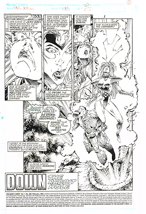 Uncanny X-Men #285/Page 1 ASK FOR PRICE