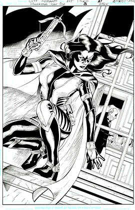 Huntress #3/Page 21            SOLD