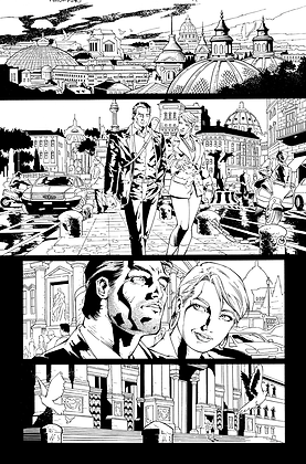 Savage Hawkman #11/Page 1