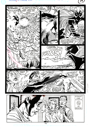 Adventures of Superman #470/Page 15    SOLD