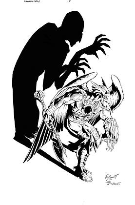 Savage Hawkman #17 Cover