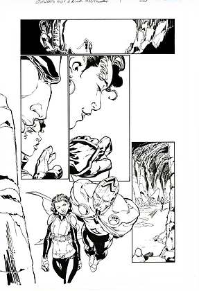 Outsiders: 5 of a Kind #1/Page 22