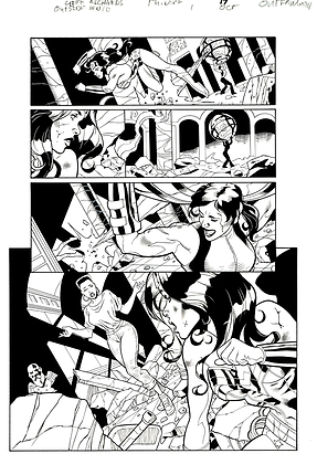 Outsiders/Wonder Woman #1/Page 17    SOLD