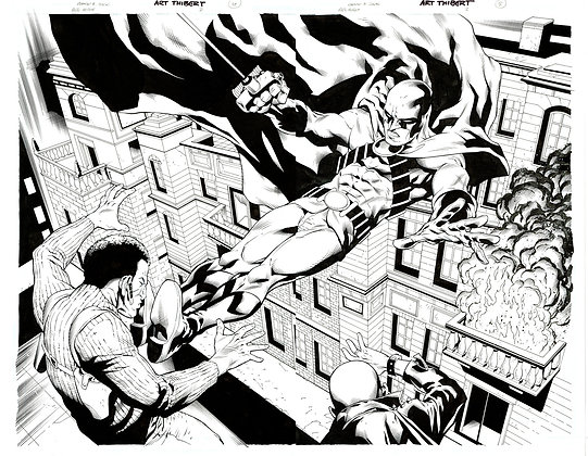 Red Robin #2/Pages 4 & 5  SOLD