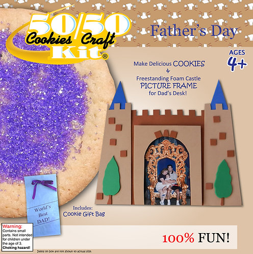 Dad's Castle Freestanding Picture Frame