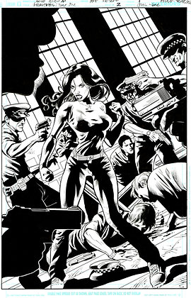 Huntress #2/Page 1