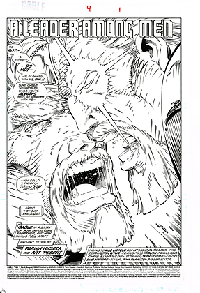 Cable #4/Page 1