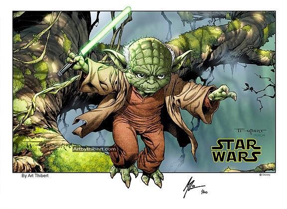 Yoda - Limited Edition Print