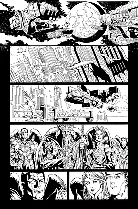 Savage Hawkman #0/Page 1