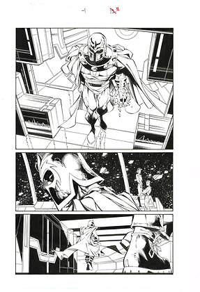 X-Men -1/Page 11             SOLD