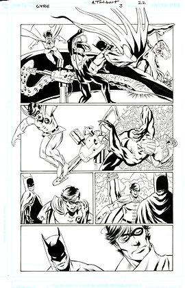 Batman: Widening Gyre #3/Page 22     SOLD