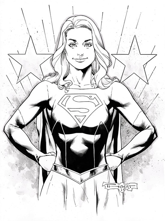 Supergirl by Art Thibert