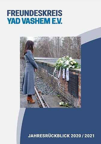 Freundeskreis Yad Vashem, Jahresrückblick 2020/2021