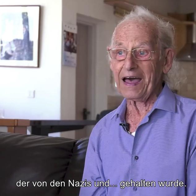 Befreiung ist ein großes Wort: Zvi Aviram zum Anne Frank Tag 2020