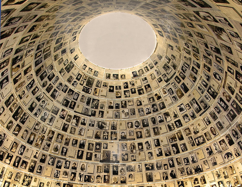 The Hall of Names, Yad Vashem