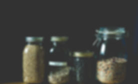 Grains in Mason Jars