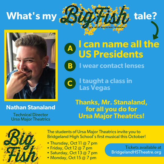 What's My BIG FISH tale_ - STANALAND - A