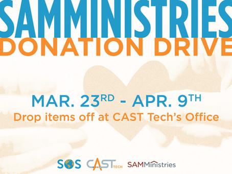 SAMMinistries Donation Drive