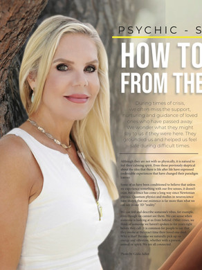 Discover Magazines   Psychic-Science-Spirit Messages   How To Answer The Call From The Other Side