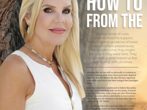 Discover Magazines | Psychic-Science-Spirit Messages | How To Answer The Call From The Other Side