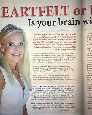 Karen Discover Magazine Heartful Article