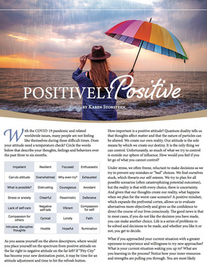 Discover Magazines   Positively Positive
