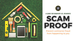 Scam Proof - Preventing Contractor Fraud