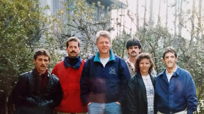 Presidential Detail - President Clinton.