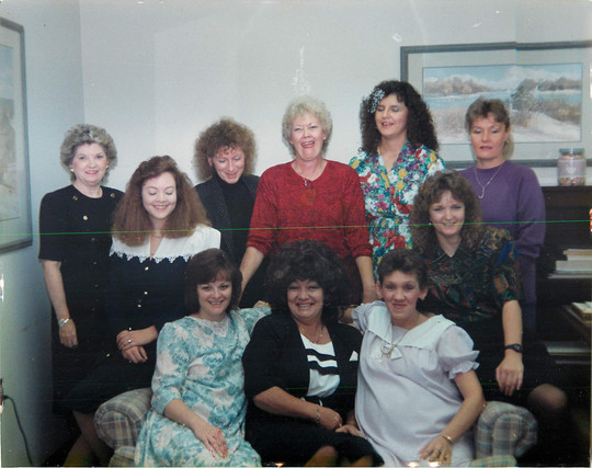 1990-91 Criminal Records Personnel