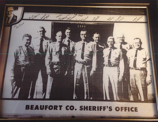 1961 - BCSO Sheriff McTeer