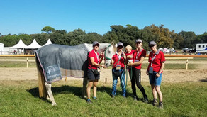 Worldchampionship Young Riders & Juniors CEI** 120km, Pisa, Italien